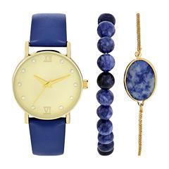 Womens Blue Watch Boxed Set-Wac5269jc