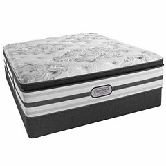 Simmons® Beautyrest® Platinum® McNeil Pillow-Top Plush Mattress + Box Spring