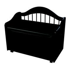 KidKraft® Limited Edition Toy Box - Black