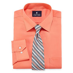 Mens dress shirts ties jcpenney for Stafford big and tall shirts