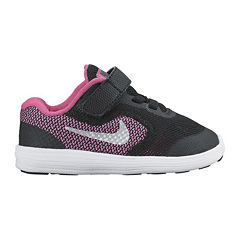 Nike® Revolution 3 Girls Running Shoes - Toddler