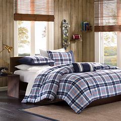 Mi Zone Alton Plaid Duvet Cover Set & Accessories