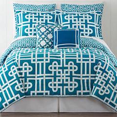 Happy Chic by Jonathan Adler Samantha 3-pc. Reversible Comforter Set