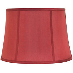Linen Bell Lamp Shade with Piping