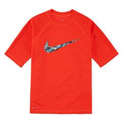 Nike Dri-FIT Water Camo Swoosh Rash Guard - Boys 8-20