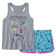 Total Girl 2-pc. Pant Pajama Set Girls Plus