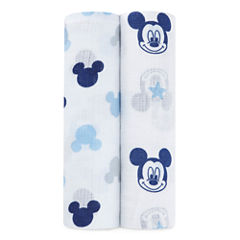 Ideal Baby 2-pc. Mickey Mouse Swaddle Blanket