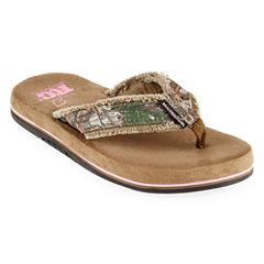 Realtree® Bliss Womens Flip Flops