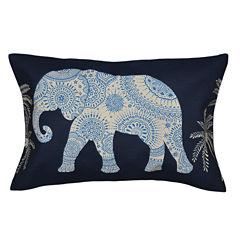 Ravi Elephant Pillow 15x25