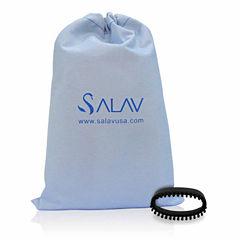 Salav SA202 2-pc. Garment Steamer Brush & Travel Bag Accessory Pack
