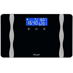 Escali® Wide Body Composition Bathroom Scale