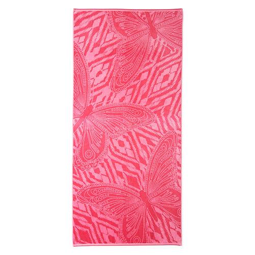 Outdoor Oasis Tahitian Butterfly 34x68 Jacquard Beach Towel