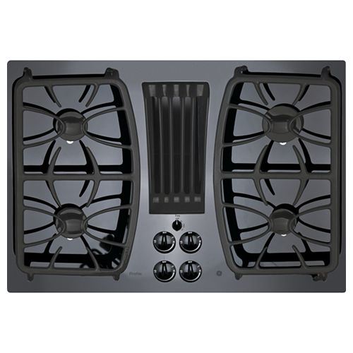 GE Profile™ 30 Built-In Gas Downdraft Cooktop With 4 Burners