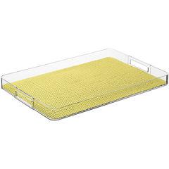 Kraftware Rectangular Fishnet Serving Tray