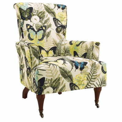 Junnell Botanical Fabric Wingback Chair  sc 1 st  JCPenney & Floral Chairs u0026 Recliners For The Home - JCPenney islam-shia.org