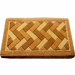 Geometric Rectangular Doormat