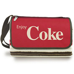 Picnic Time® Coca-Cola Two-Sided Blanket Tote
