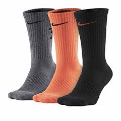 Nike® 3-pk. Dri-FIT Fly-Rise Crew Socks - Big & Tall