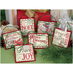 Counted Cross Stitch – Christmas Ornaments