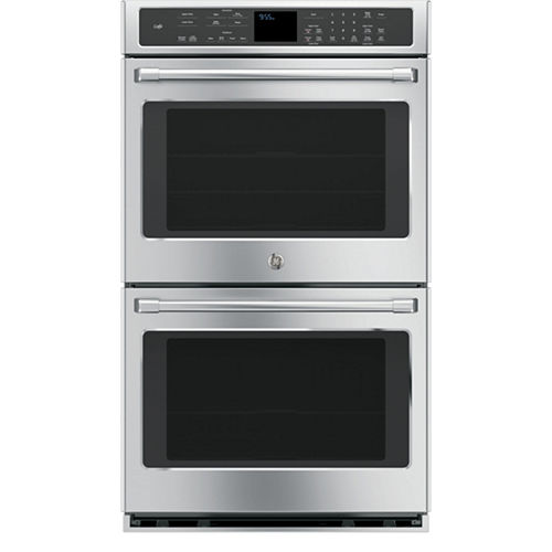GE Café ™ 30 Double Electric Wall Oven Self Cleaning With Convection