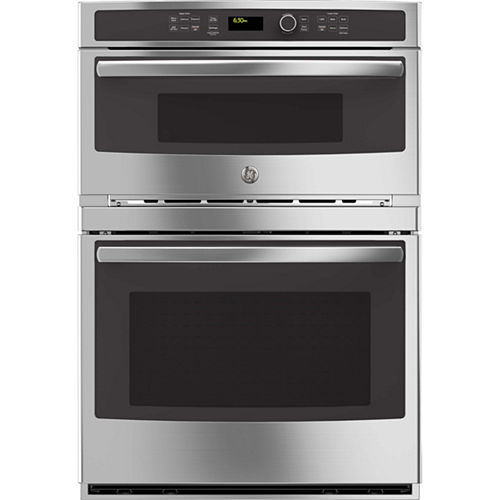 GE® 30 Electric Wall Oven With Built-In Microwave