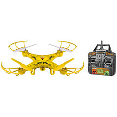 World Tech Toys Angry Birds Licensed Chuck Squak-Copter 4.5CH 2.4GHz RC Camera Drone