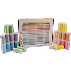 Melrose Trilobal 24-pk. Polyester Thread Assortment - Pastels