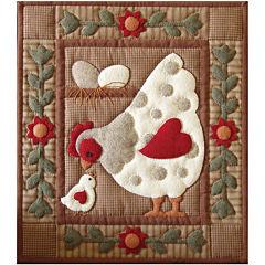 Spotty Hen Quilt Kit