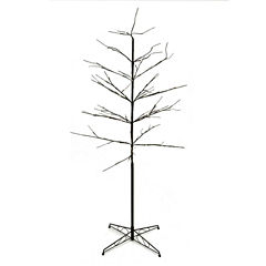 6' LED Lighted Color Combo Christmas Twig Tree Outdoor Yard Art