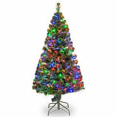 National Tree Co. 5 Foot Evergreen Pre-Lit Christmas Tree