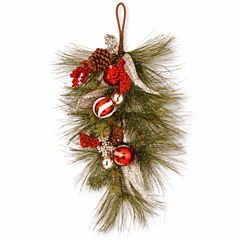 National Tree Co. Christmas Teardrop Holiday Yard Art