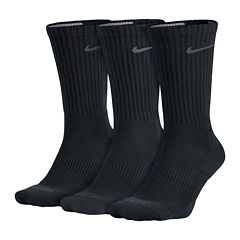 Nike® 3-pk. Dri-FIT Crew Socks - Big & Tall