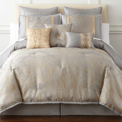 home expressions carlisle 7pc comforter set
