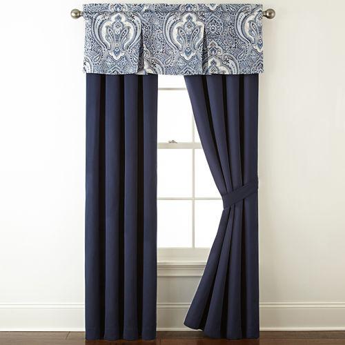 Royal Velvet® Modena 2-Pack Curtain Panels