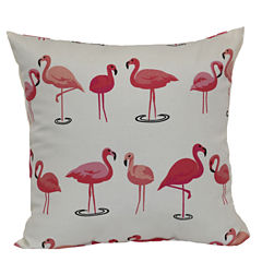Outdoor Oasis™ Flamingo Square Pillow