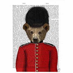 British Series Canvas Art