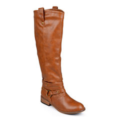 Journee Collection Walla Riding Boots - Extra Wide Calf