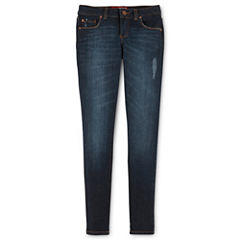 Arizona Skinny Jeans - Girls 6-16, Slim and Plus