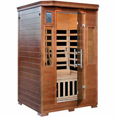 2-Person Sauna with 6 Carbon Heaters