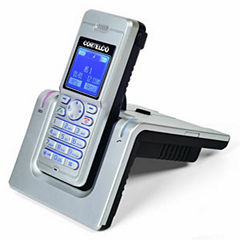 Cortelco ITT-8015 DECT Cordless Telephone with Headset Jack/Belt Clip