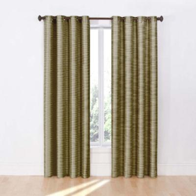 eclipse deron blackout grommettop curtain panel - 63 Inch Curtains
