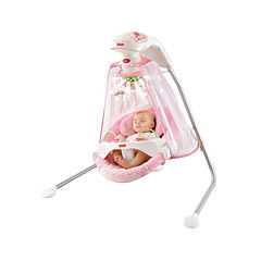 Fisher Price Papasan Cradle Swing Butterfly Garden