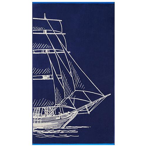 Softesse Sail 40x72 Beach Towel