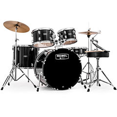 Mapex RB5294FTCDK Rebel 5-pc. Drum Set with Hardware & Cymbals with 22