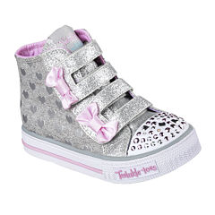 Skechers Twinkle Toes Shuffles Doodle Days Girls Sneakers - Toddler