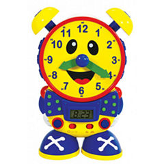 The Learning JourneyTelly The Teaching Time Clock, Primary Colors