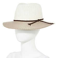 Studio 36 Colorblock Panama Hat