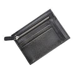 Royce® Saffiano Leather Slim Card Case Wallet