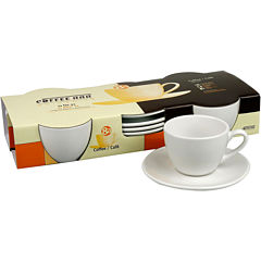 Konitz Coffee Bar 8-pc. Coffee Cup and Saucer Set