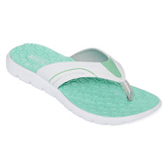 Mixit™ Geometric-Textured Sporty Thong Sandals